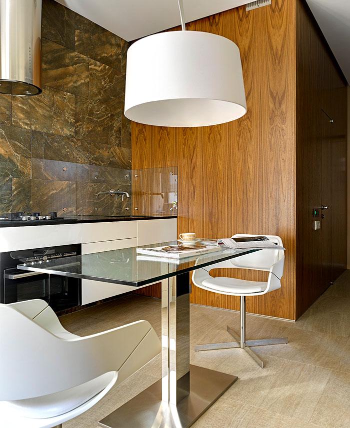 chic moscow studio kitchen 1