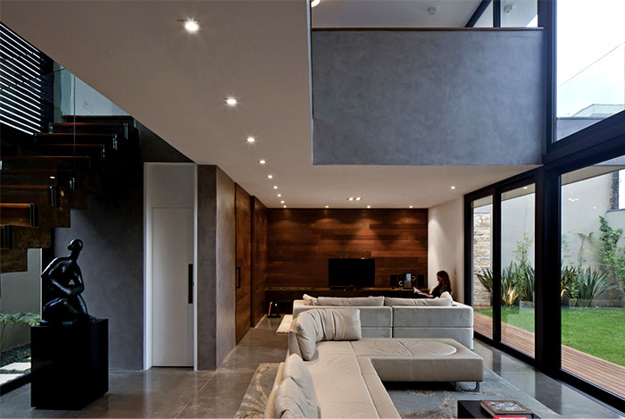 clear space architectural ambience
