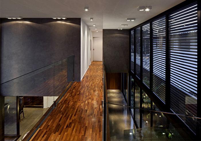 dark wood timber flooring