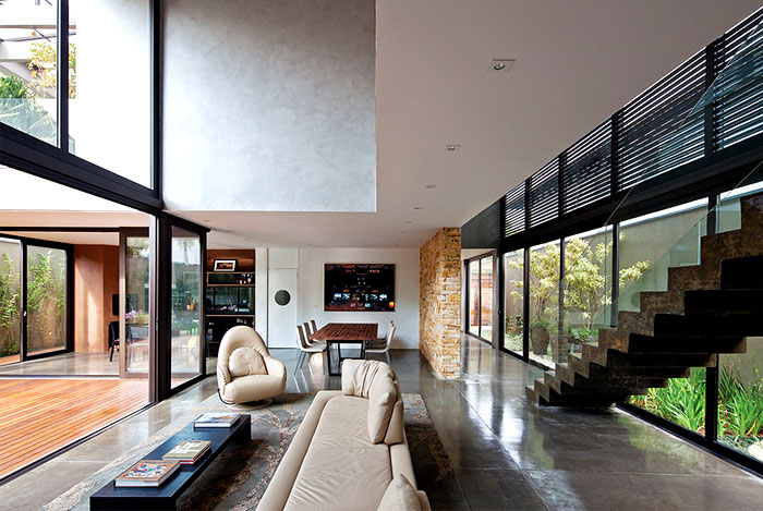 polished wood marble stone interior decor