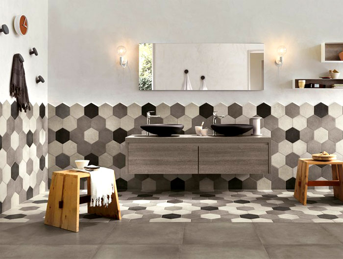 hexagonal-wall-tiles-bathroom