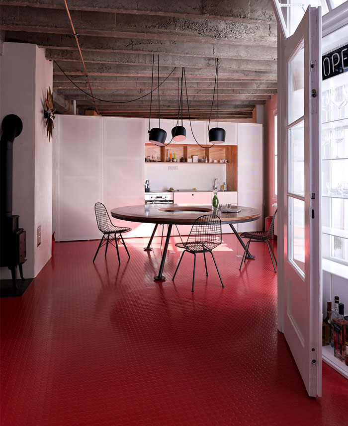 rubber-red-flooring-kitchen