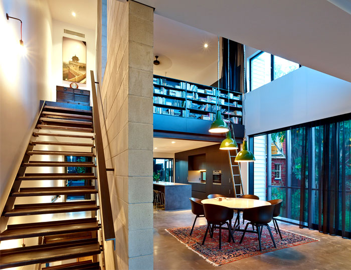 burnished-concrete-floors-folded-steel