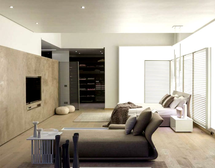 contemporary-bedroom- furnishing-neutral-colors- soft-textures