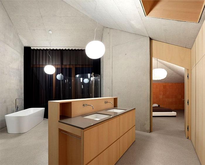 exposed-bricks-wood-bathroom-decor