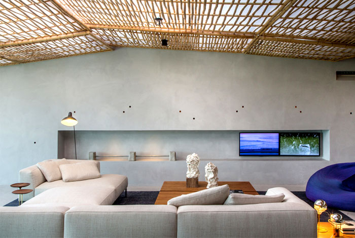 ceiling-lined- bamboo-fabric