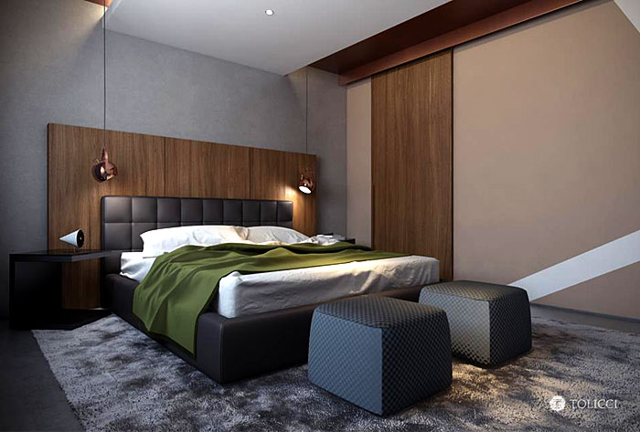 padded-bed-chocolate-brown-color