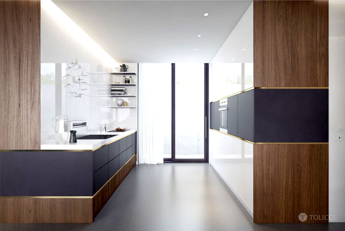 golden-trims-connecting-dining-kitchen
