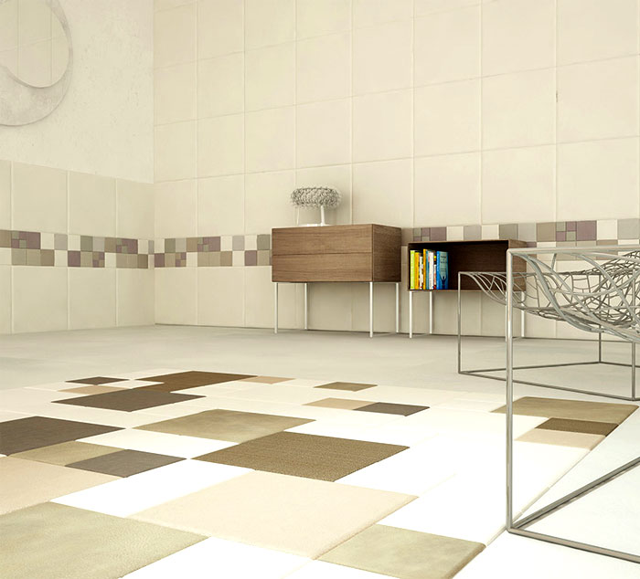 Leather Wall And Floor Tiles By Lapelle Design Interiorzine