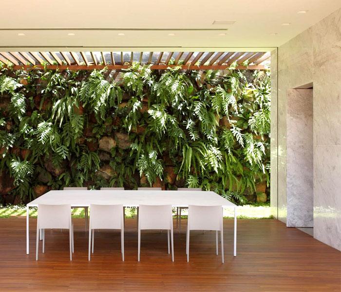 an-house-green-wall