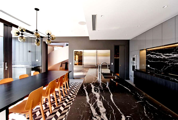 black-furnishing- elements-graphic-rug