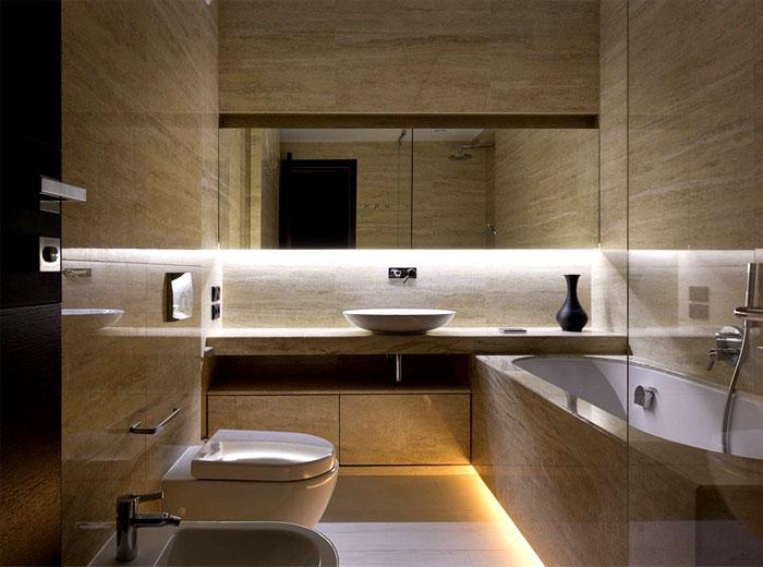fashionable-moody-dark-living-bathroom