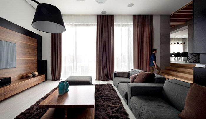fashionable-moody-dark-living-room-interior
