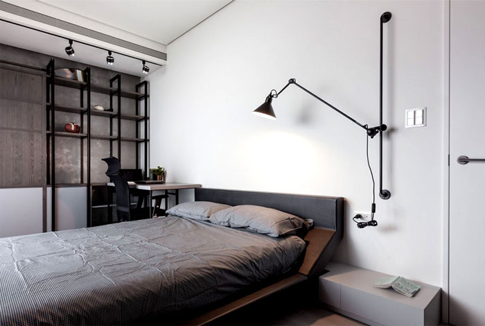 grayish-bedroom