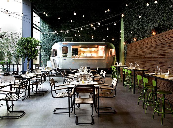 Garden Restaurant Outdoor Seating Areas