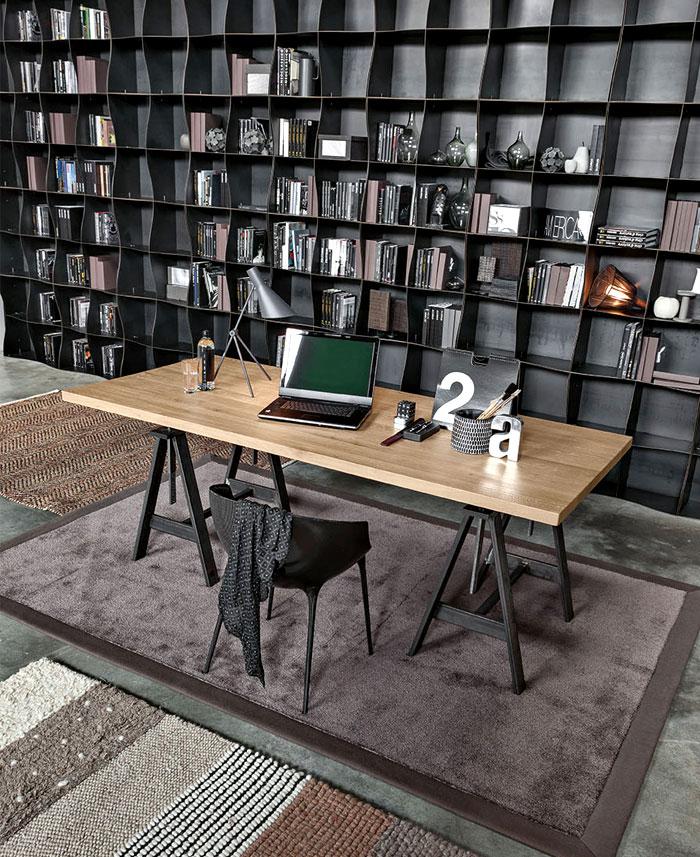 iron ic modular metal bookcase