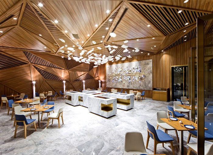 marble-pattern-floor-restaurant