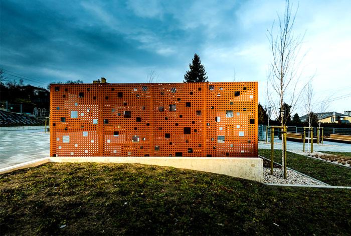 public space greenery arrangement 3xa 2
