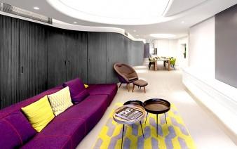 apartment designed nk design architecture 338x212