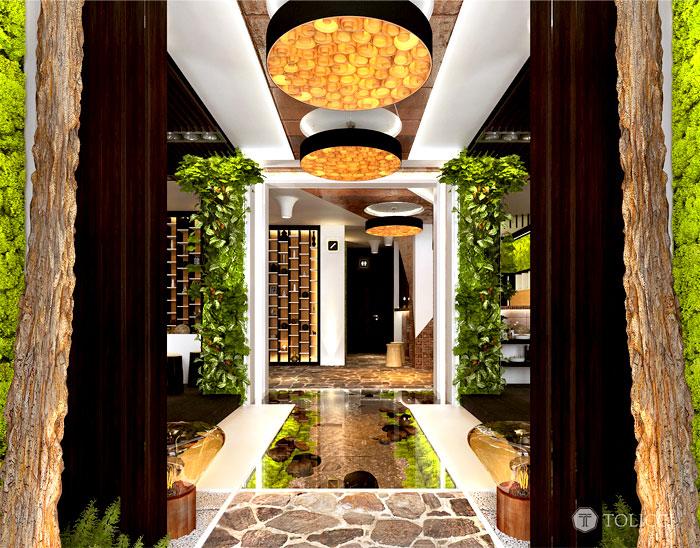 hotel sosna entrance 2