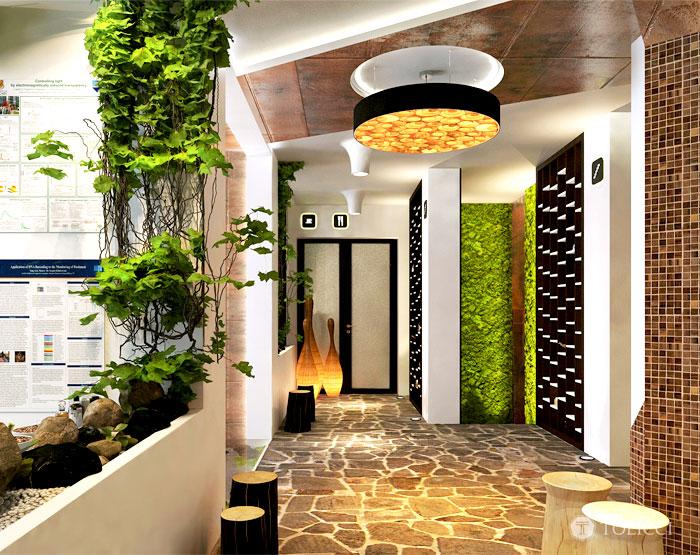 hotel sosna glazed floor 1