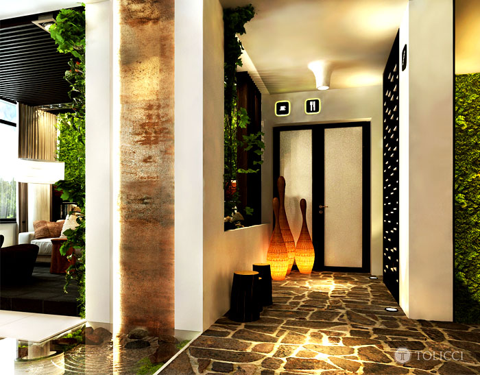 hotel sosna glazed floor