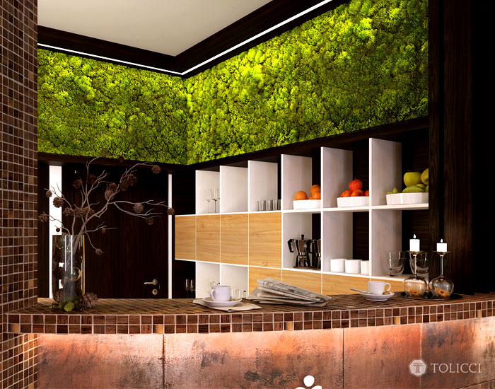 reception-area-combination-moss-wall-wooden-mosaic