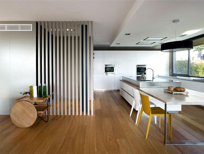 functional modern dwelling kitchen