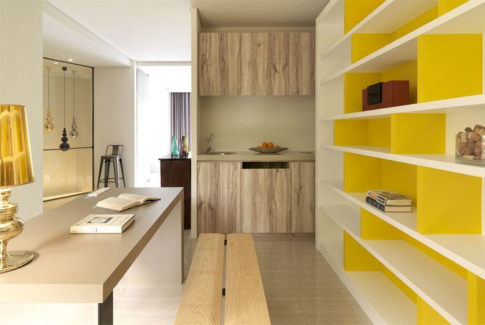 yellow-bookshelves
