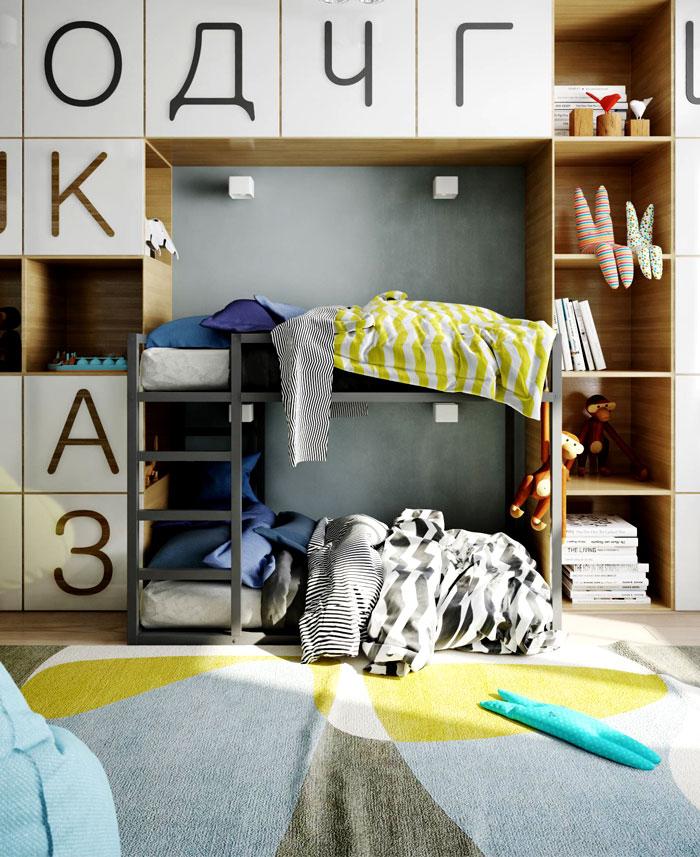 apartment kiev kids room 1