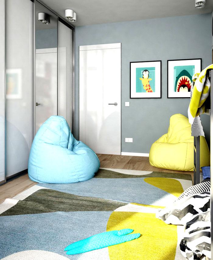 apartment kiev kids room 2