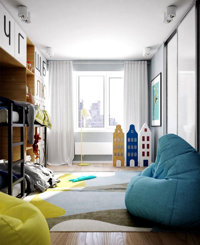apartment kiev kids room 3