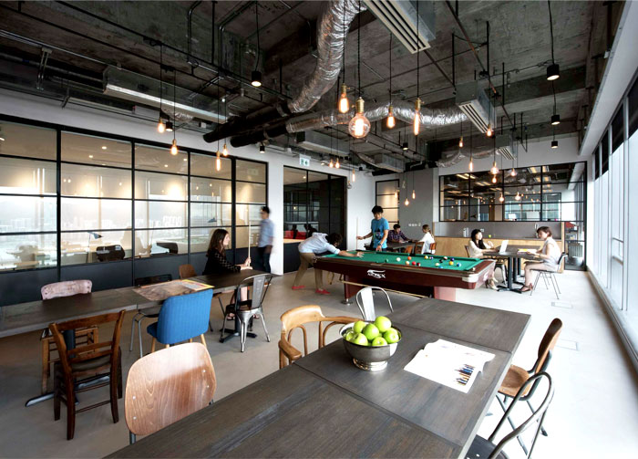 modern urban workspace bean buro 2