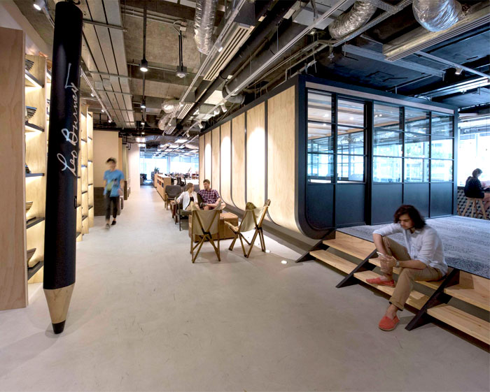 modern urban workspace bean buro 4