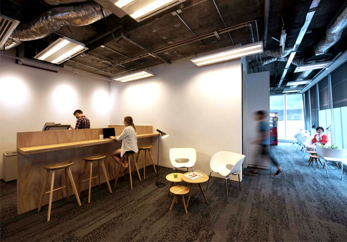 modern urban workspace bean buro