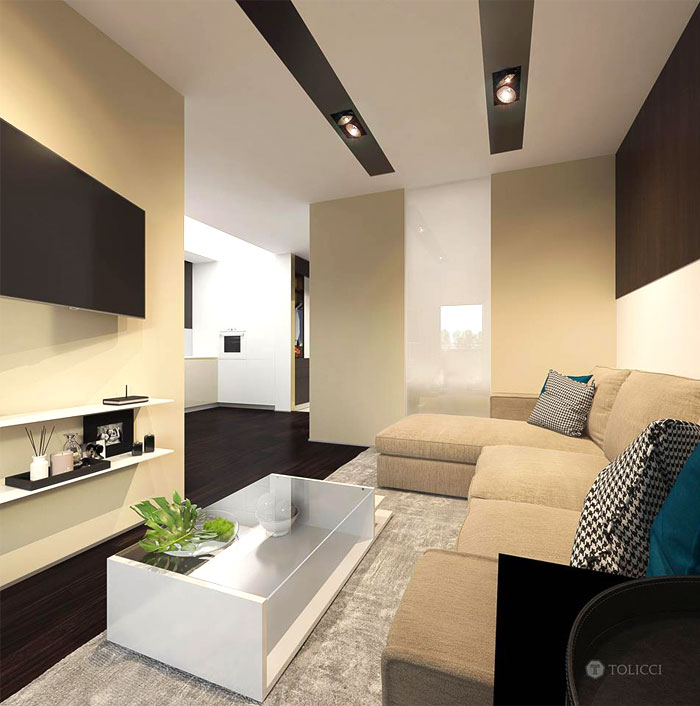 tolicci design studio small italian apartment 11