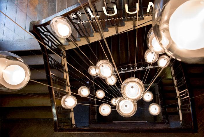 luum 20 metre installation flame 4
