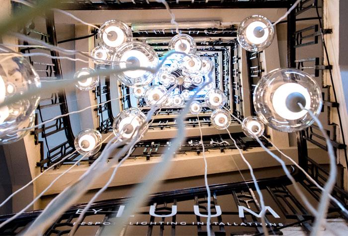 luum 20 metre installation flame 6