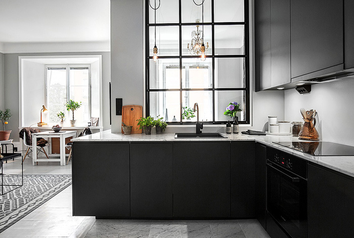 black-appliances-scandinavian-kitchen