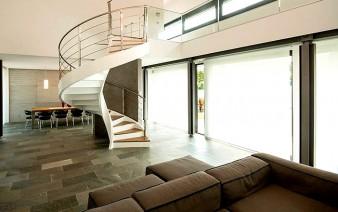 sculptural spiral staircase 338x212