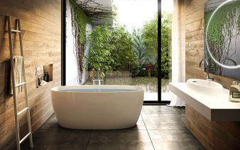 modern bath greenery 338x212