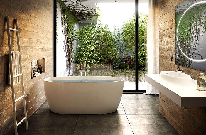 Best Bathroom Plants To Decorate Your Modern Bath With Greenery Interiorzine