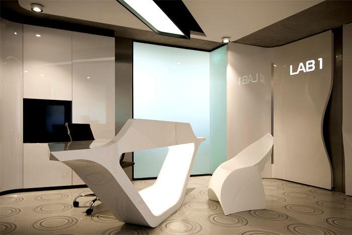 Genetic Laboratory In Sofia By Bozhinovski Design Interiorzine