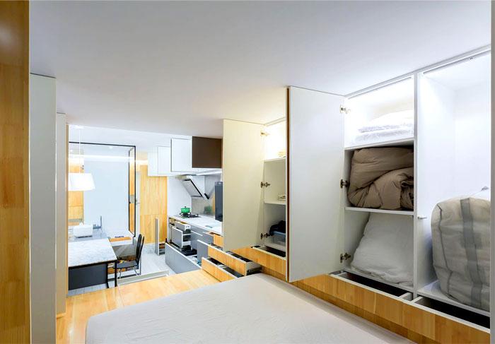 compact apartment shanghai 2
