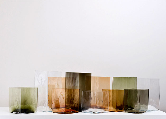 ruutu vases glass bouroullec brothers 2