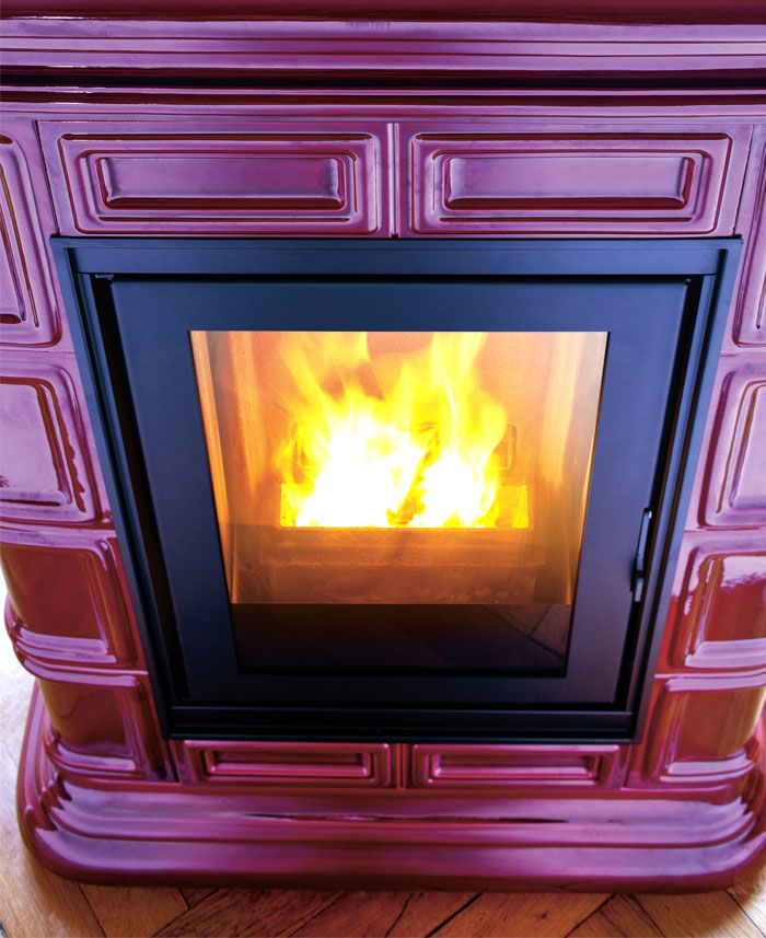 ceramic hydro pellet stove 2