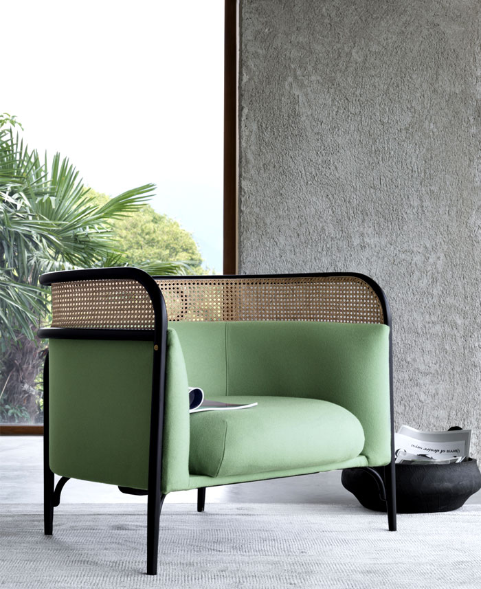 targa lounge chair gam fratesi 7