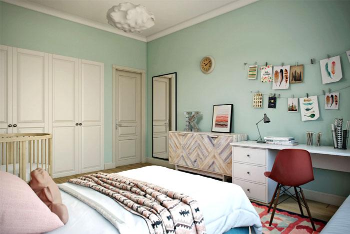 archi cgi rendering kid bedroom 1