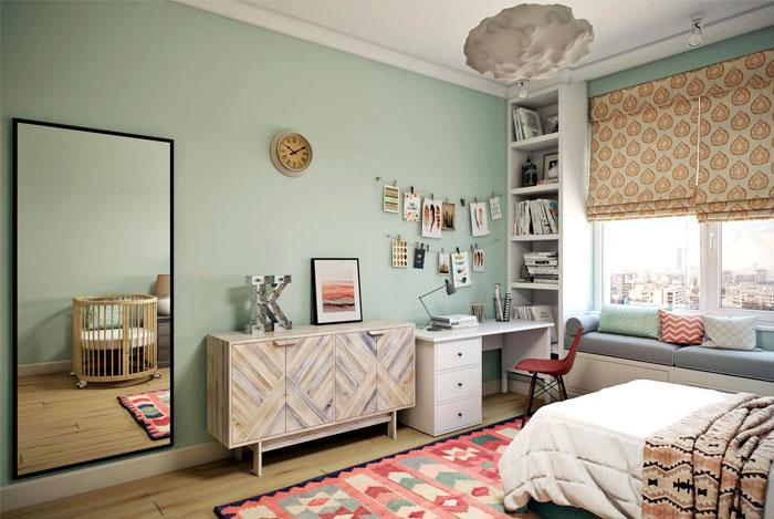 archi cgi rendering kid bedroom 2