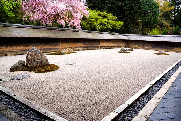 ryoan ji 15th century japanese garden kyoto